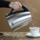 epica cordless kettle pouring water